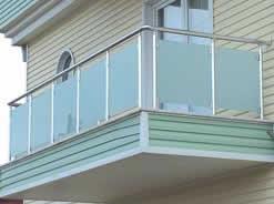 alüminyum opak camlı balkon korkuluk
