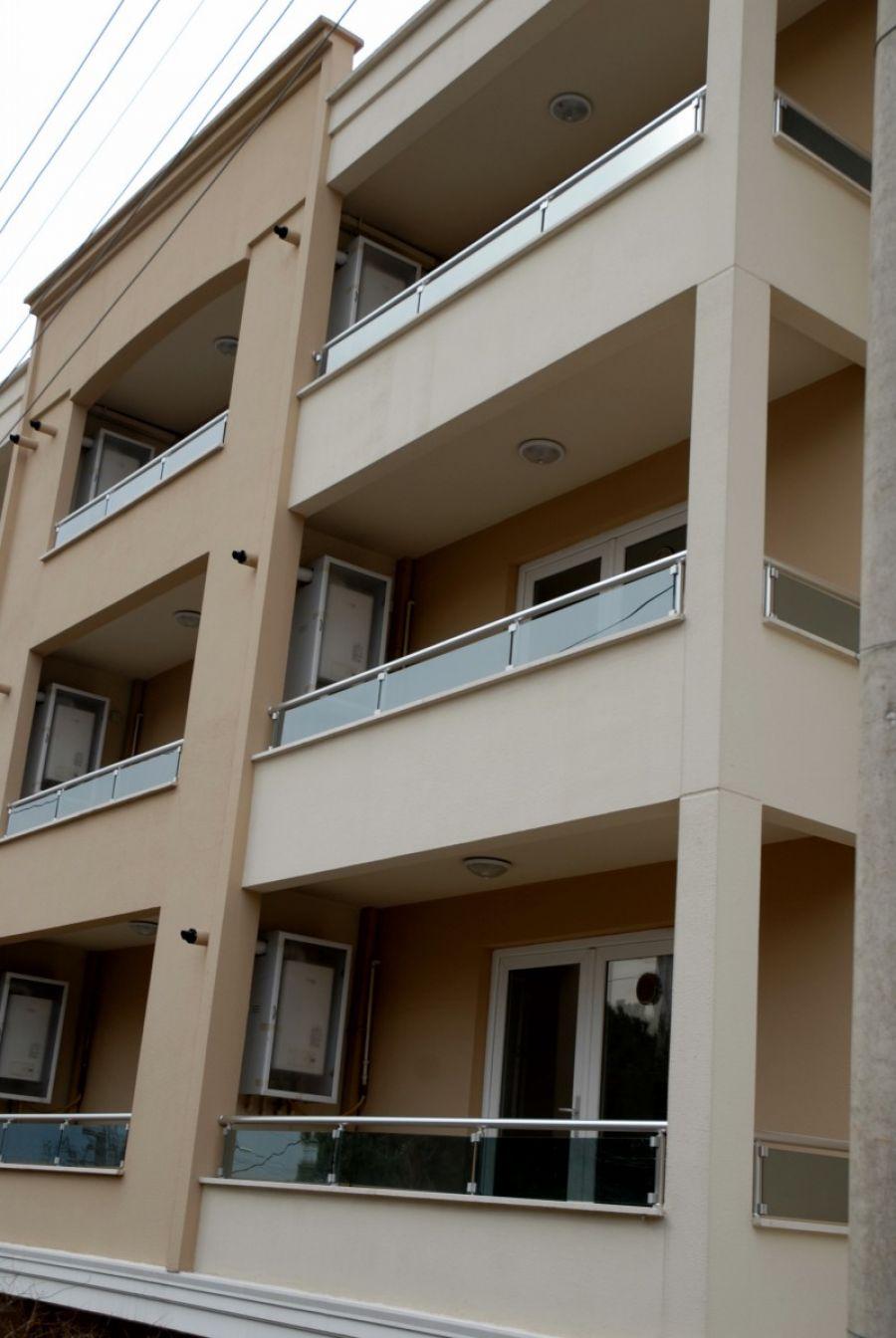 alüminyum parapet camlı balkon korkuluk modeli