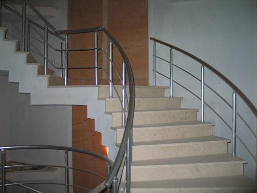 alüminyum merdiven korkuluk