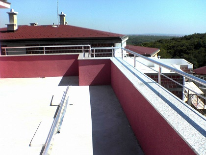 teras balkon korkuluk küpeşte